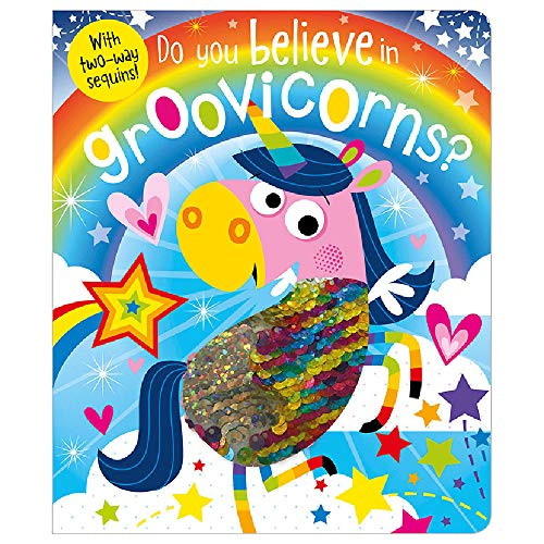 Do You Believe In Groovicorns? (two-way sequins) from Make Believe Ideas
