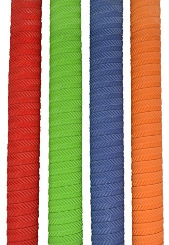 Make or Break Professional Cricket Bat Rubber Grips Spiral Non Slip Replacement Handle Grip Design (S05) (Surprise me(Any colour)) from Make or Break
