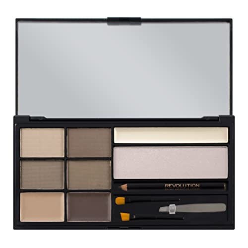 Makeup Revolution - Ultra Brow Eyebrow Kit - Fair to Medium from Makeup Revolution