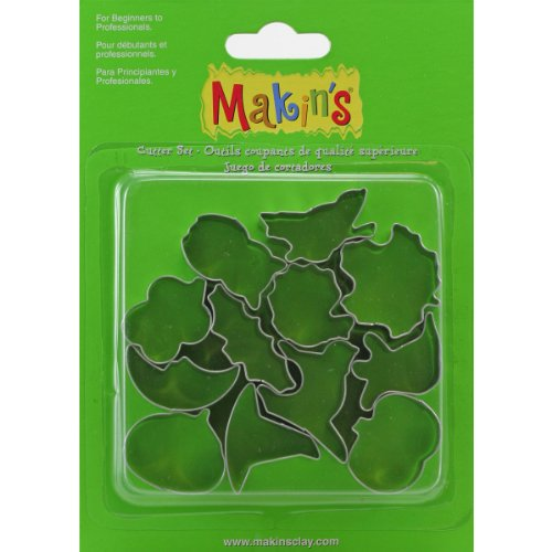 Makin's USA Metal Clay Cutters-Halloween from Makin's USA