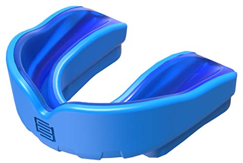Makura Ignis Mouthguard - Blue/Blue, Junior (Age 10 & Under) from Makura