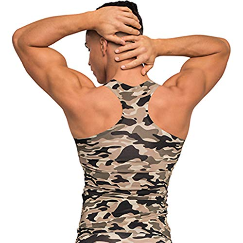 Malepower Tank Top, Medium, Camo from Malepower