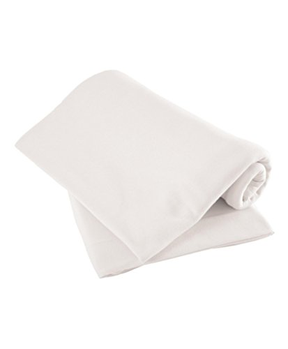 Mamas & Papas White Fitted Sheets - for Cot/Cotbed Pack of 2 from Mamas & Papas