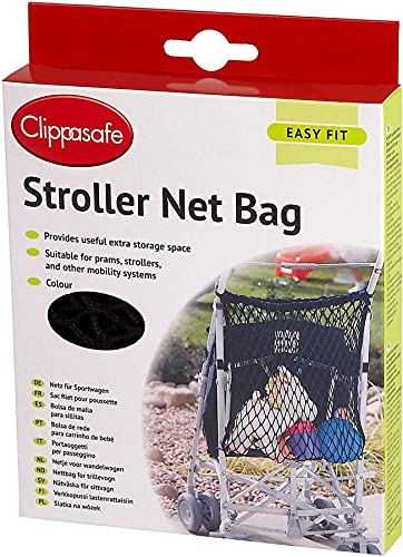 CLIPPASAFE STROLLER NET BAG from Globalbaby