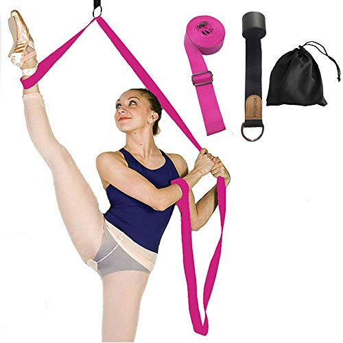 Leg Stretcher Band on Door - Get More Flexible - Ballet Yoga Pilates Flexibility Trainer To Improve Leg Stretching - Perfect Home Portable Equipment For Dance Gymnastic Exercise taekwondo & MMA from Manco Luella