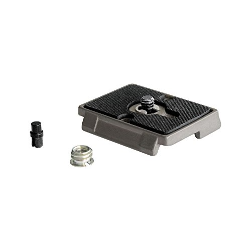 Manfrotto Quick Release Plate with 1/4 Inch Screw - Multi-Coloured from Manfrotto
