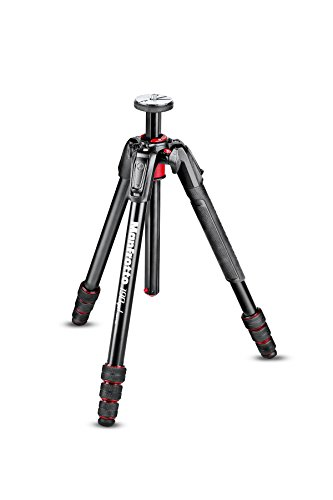 Manfrotto mt190goa4 4 Sections Aluminum Tripod for Camera Black from Manfrotto