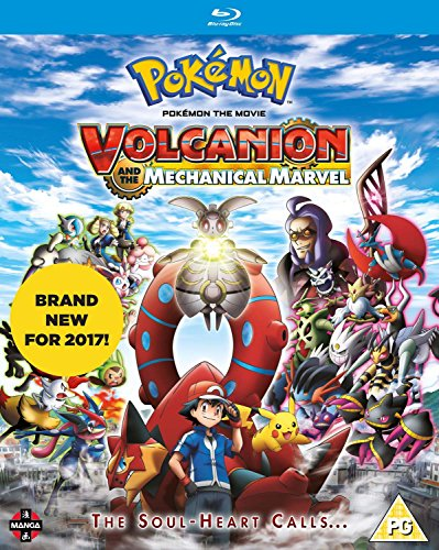 Pokemon The Movie: Volcanion and the Mechanical Marvel [Blu-ray] from Manga Entertainment