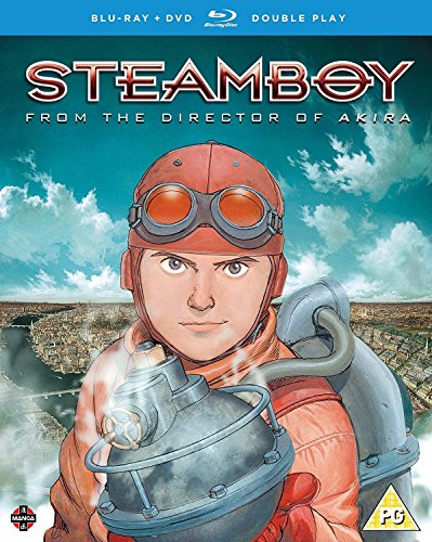 Steamboy - DVD/Blu-ray Double Play from Manga Entertainment