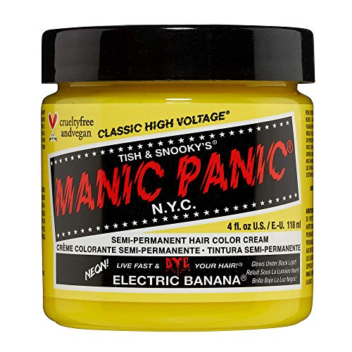 Manic Panic Classic Semi-Permanent Hair Dye 118ml (Electric Banana) from Manic Panic