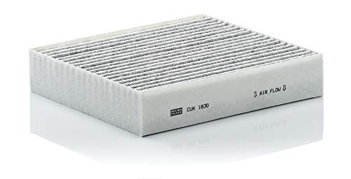 MANN-FILTER CUK 1830 Cabin Air Filter, Pollen filter with activated carbon for Cars from Mann Filter