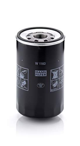 MANN-FILTER W 1160 Oil Filter, for trucks, buses and Utility Vehicles from Mann Filter