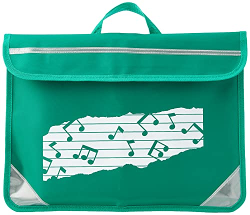 Mapac MP11310-GR Duo Music Bag with Motif - Green from Mapac