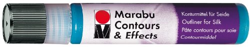 Marabu 073 25 ml Contours and Effects Paint, Black from Marabu