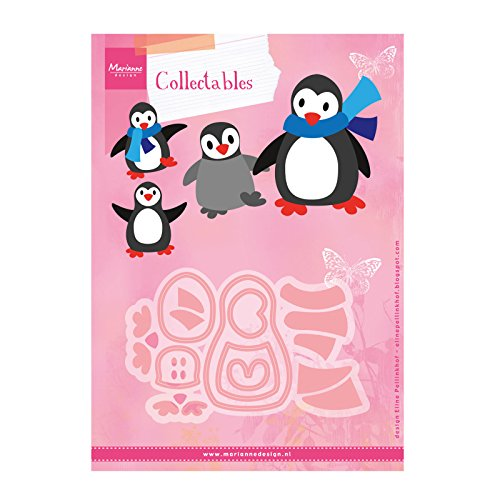 Marianne Design Collectables Eline's Penguin Die, Pink from Marianne Design