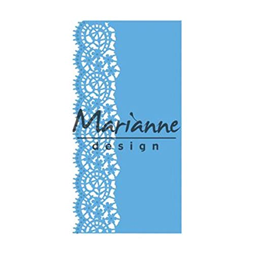 Marianne Design Creatables Lace Border (Small) Die, Metal, Blue, 20.1 x 8.4 x 0.2 cm from Marianne Design