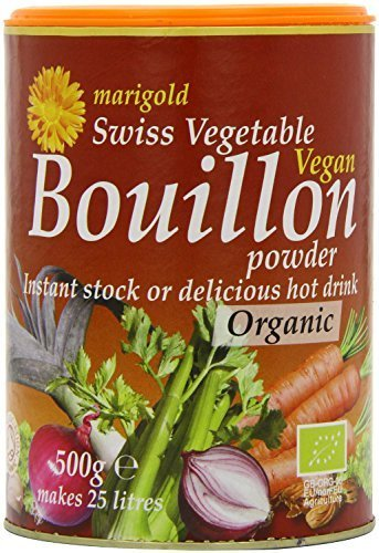 (4 PACK) - Marigold Swiss Vegetable Bouillon - Organic| 500 g |4 PACK - SUPER SAVER - SAVE MONEY from Marigold Health Foods