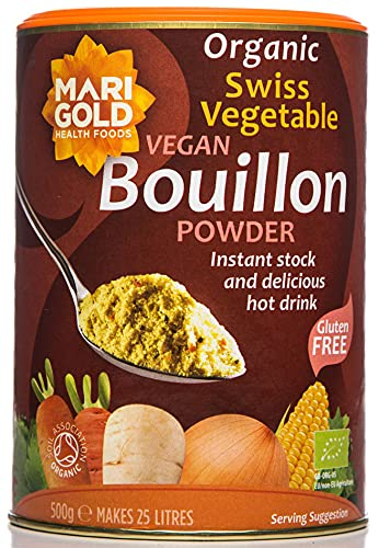 Marigold Organic Vegetable Bouillon Powder 500g from Marigold Health Foods
