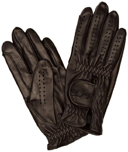 Mark Todd Toddy Leather Riding/gloves - Black, 7-9 Years from Mark Todd