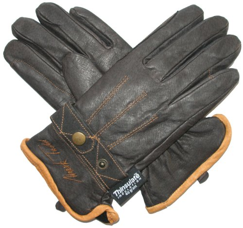 Mark Todd Unisex's Toddy Winter Gloves, Brown, X-Small from Mark Todd