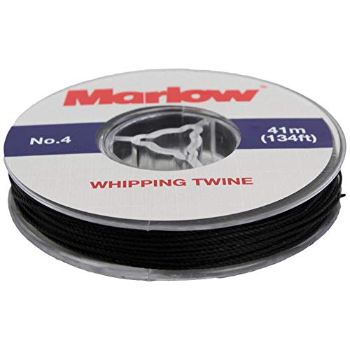 Marlow No. 4 Marine Whipping Twine - 41m / 134ft (Black) from Marlow