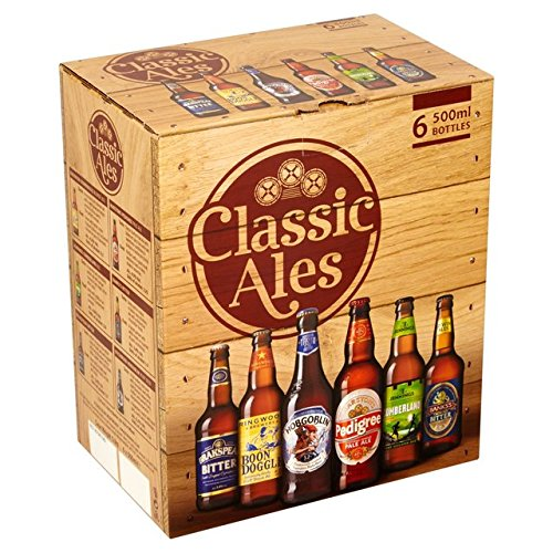 Marstons Classic Ales of England Collection Pack (6 x 500ml Bottles) from Marston's