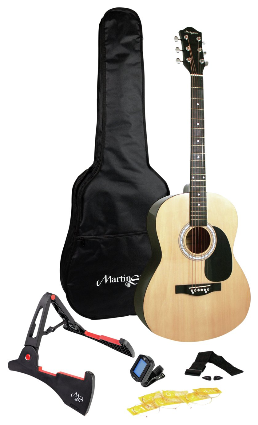 Martin Smith Full Size Acoustic Guitar and Accessories from Martin Smith
