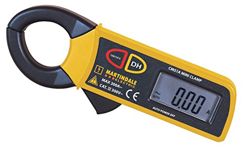 Martindale CM51 300 A AC Auto Ranging Mini Current Clamp Meter from Martindale