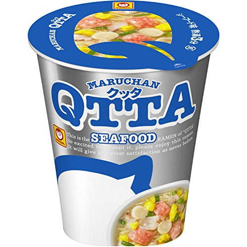 Maruchan Cup Noodles QTTA Seafood 78g×12 Ramen Japan from Maruchan