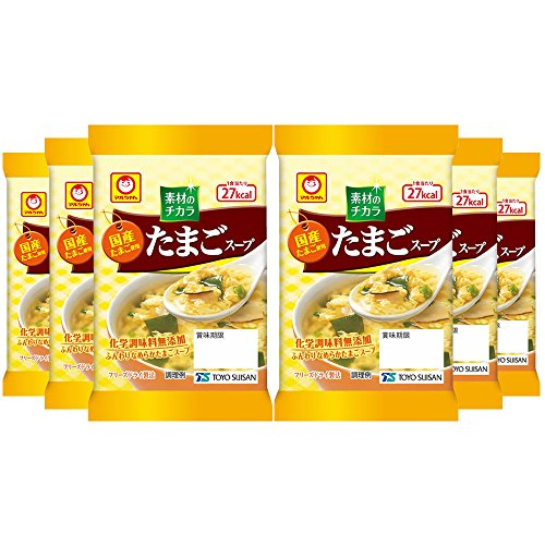 Maruchan Egg Soup 6.4g×6 Japan from Maruchan