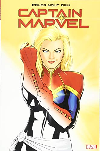 Color Your Own Captain Marvel from Marvel Comics