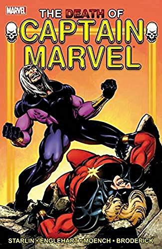 The Death Of Captain Marvel from Marvel Comics