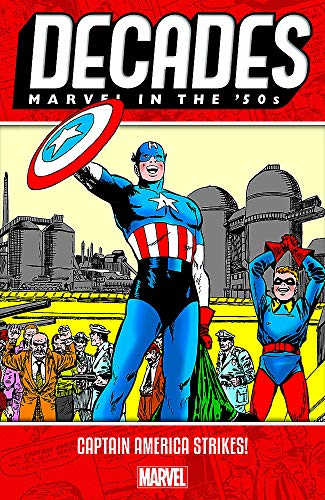 Decades: Marvel in the 50s - Captain America Strikes from Marvel Comics