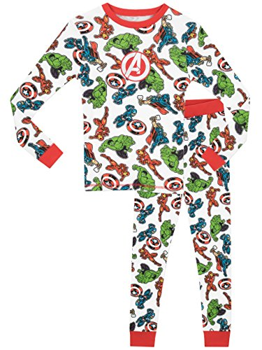 Marvel Boys Avengers Pyjamas - Snuggle Fit - Age 9 to 10 Years from Marvel