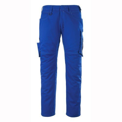 "Mascot 12579442-11010-82C58 Size L82cm/C58 ""Oldenburg"" Trousers - Cornflower Blue/Black/Blue from Mascot"