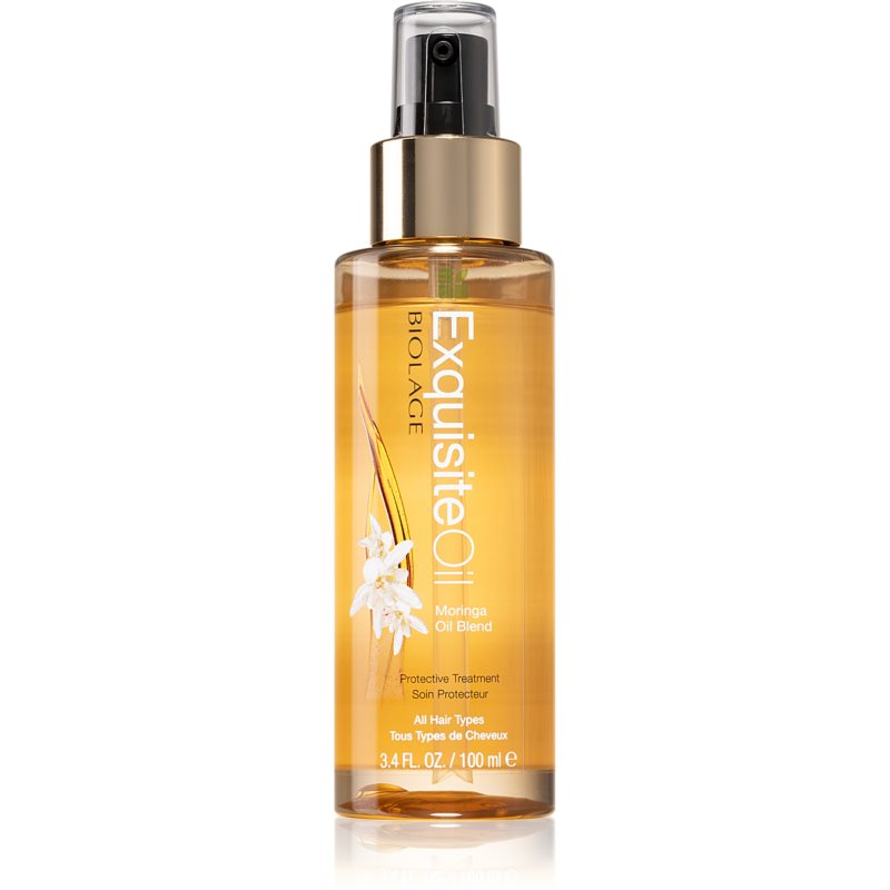 Biolage Advanced ExquisiteOil Replenishing Treatment with Moringa Oil Blend For All Types Of Hair 100 ml from Biolage
