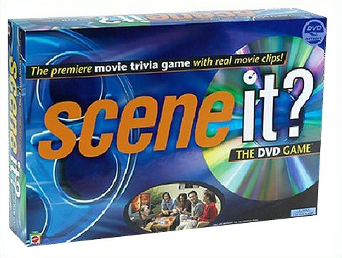 Scene It? The DVD Game from Mattel Games