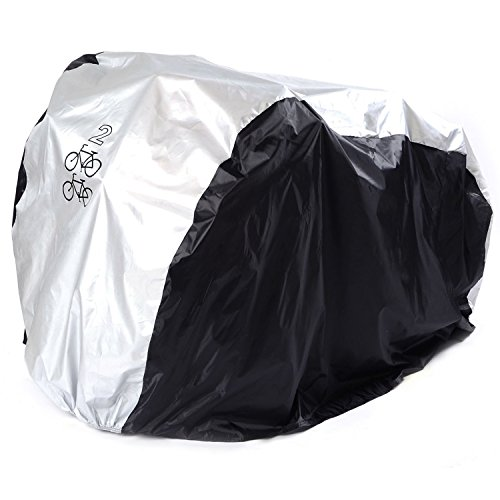 Maveek For 2 Bike Cycle Bicycle Rain Waterproof Cover All Weather Dust Resistant UV Protection from Maveek