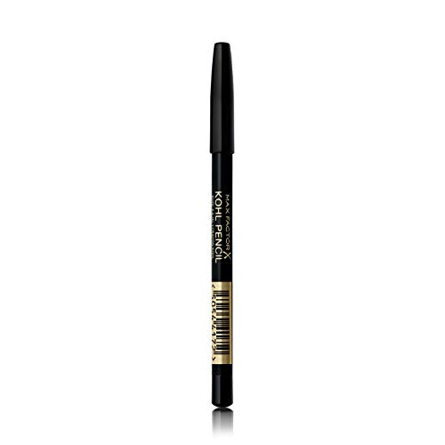 Max Factor Kohl Pencil Eyeliner, 20 Black, Easy to Blend Formula, Perfect for Smokey Eyes Make-up, 4 g from Max Factor