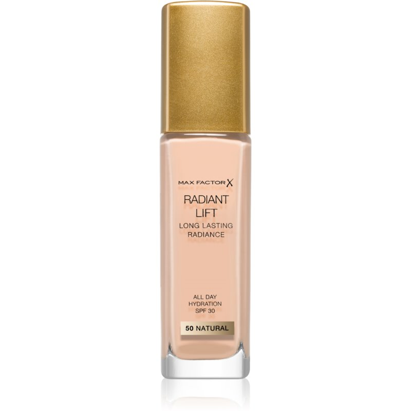 Max Factor Radiant Lift Long-Lasting Foundation SPF 30 Shade 50 Natural 30 ml from Max Factor