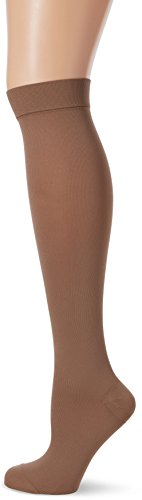 MAXAR 12-15 mmHg Large Beige H-170 Unisex Dress and Travel Support Socks - Pack of 3 from Maxar