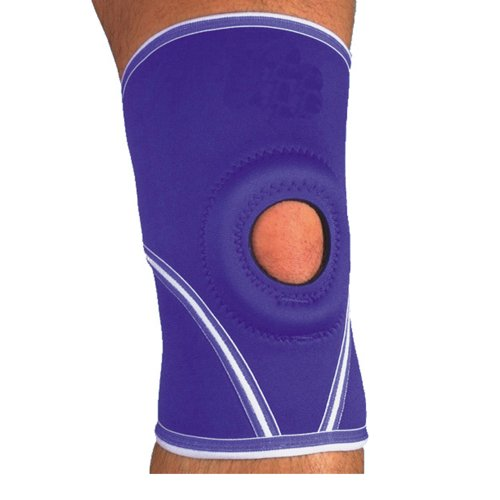 MAXAR NKN-209 X-Large Airprene Breathable Neoprene Knee Brace Open Patella Terrycotton Lining from Maxar