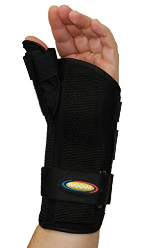 MAXAR WRS-203L Large Wrist Splint with Abducted Thumb Left Hand from Maxar