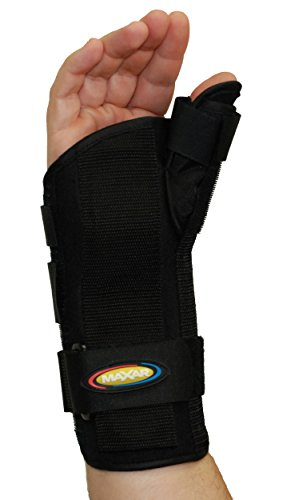 MAXAR WRS-203R Large Wrist Splint with Abducted Thumb Right Hand from Maxar