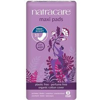 Natracare Maxi Night Time Pads 10 from Natracare