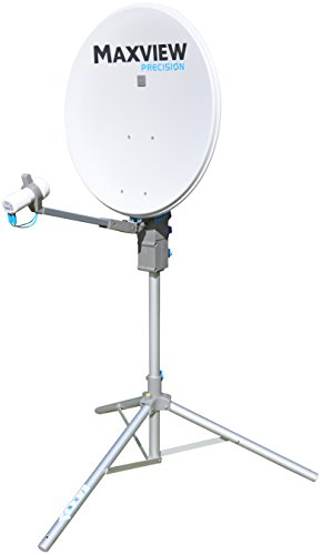 Maxview MXL01265TWIN Precision Satellite Kit with Twin LNB, 65 cm from Maxview