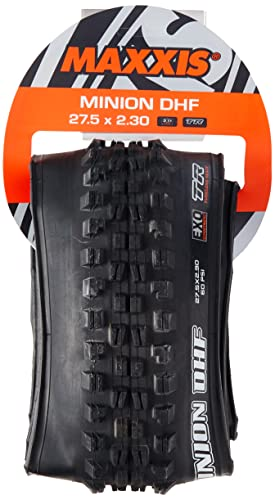 Maxxis Minion DHF Folding Dual Compound Exo/tr Tyre - Black, 27 x 2.3-Inch from Maxxis
