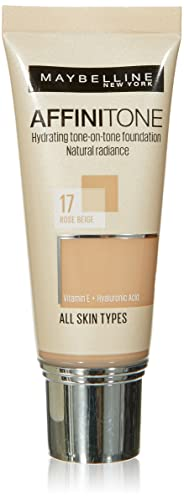 Maybelline Affinitone Unifying Foundation Cream (17 Rose Beige) 30 ml from Maybelline