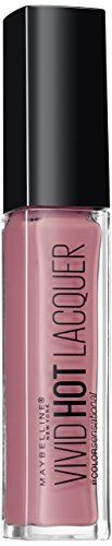 Maybelline Color Sensational Vivid Hot Lacquer Liquid Lipstick, Number 66, Too Cute from Maybelline