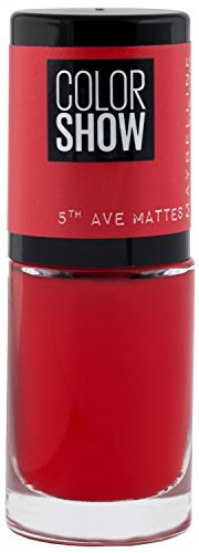 Maybelline Color Show 5th Ave Matte 455 Traffic Stop Nail Polish 7ml from Maybelline